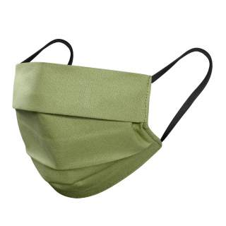 Mund- und Nasenmasken, 3-lagig, 5er Pack, Olivgrün