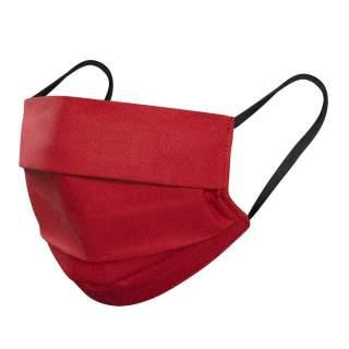 Mund- und Nasenmasken, 3-lagig, 1er Pack, Rot