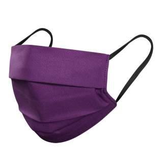 Mund- und Nasenmasken, 3-lagig, 1er Pack, Violett