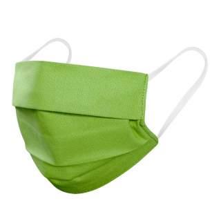 Mund- und Nasenmasken, 2-lagig, 10er Pack, Grün