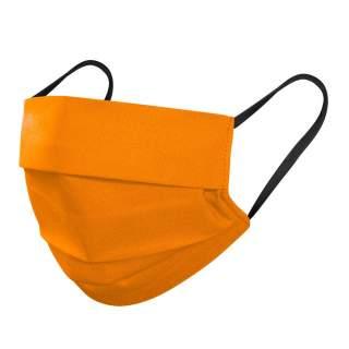 Mund- und Nasenmasken, 3-lagig, 5er Pack, Orange