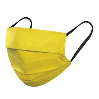 Mund- und Nasenmasken, 3-lagig, 1er Pack, Gelb
