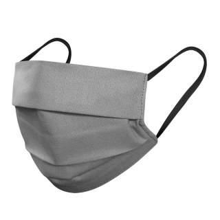 Mund- und Nasenmasken, 3-lagig, 10er Pack, Grau